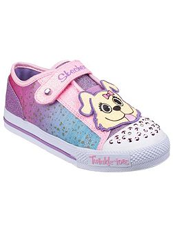 Twinkle toes shuffles play date trainers