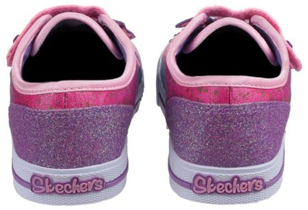 Skechers Twinkle toes shuffles play date trainers