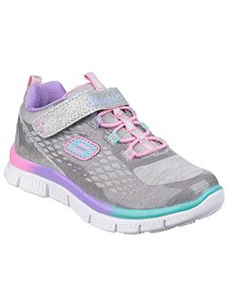 Girls Skech appeal sparktacular trainers