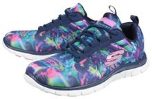 Skechers Flex appeal cosmic rays trainers