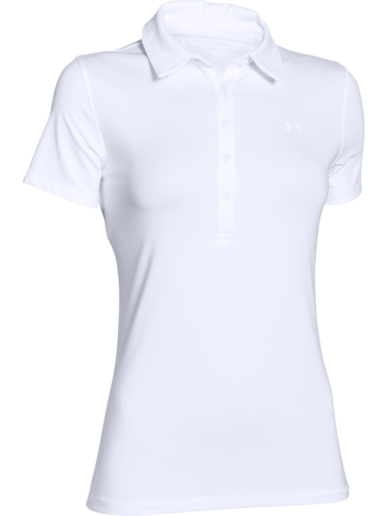 Under Armour Zinger Polo, White