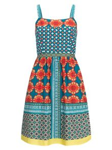Adrianna Papell Multicoloured print sundress