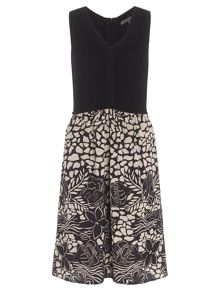 Adrianna Papell Floral skirt dress