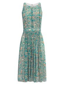 Adrianna Papell Sleeveless fit and flare print dress