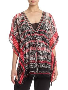 Adrianna Papell Abstract kaftan
