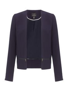 Adrianna Papell Long sleeve jacket
