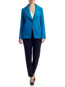 Adrianna Papell Long sleeve tailored jacket