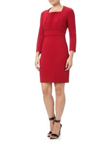 Adrianna Papell Long Sleeve Tailored Dress