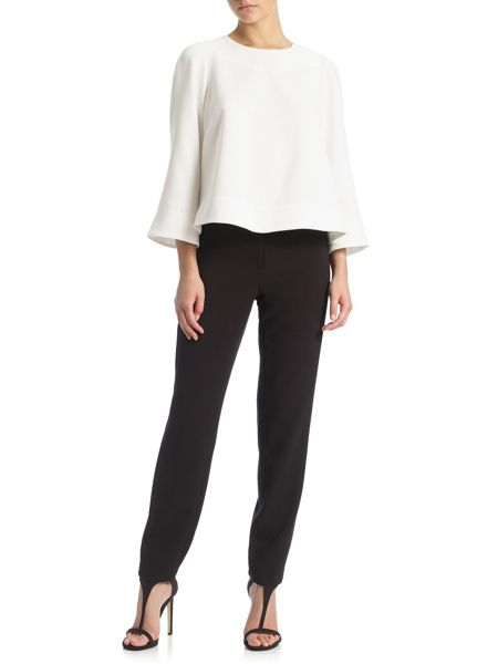 Adrianna Papell 3/4 sleeve tailored top