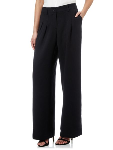 Adrianna Papell Wide leg tailored trouser
