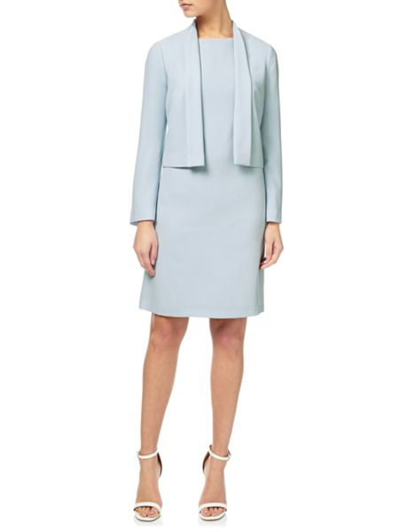 Adrianna Papell Shift dress and swing jacket set