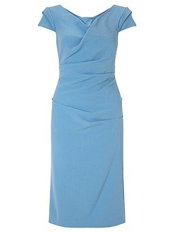 Tailored sheath dress