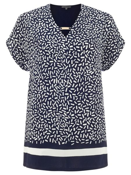 Adrianna Papell Print Top