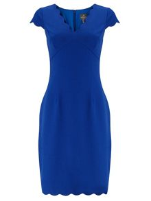 Adrianna Papell Short Sleeve Sheath Dress