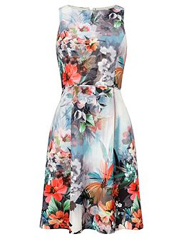 Multicolour floral dress