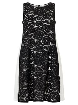 Sleeveless Treze Lace Dress