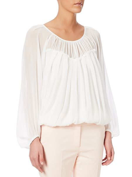 Adrianna Papell Long sleeve blouse