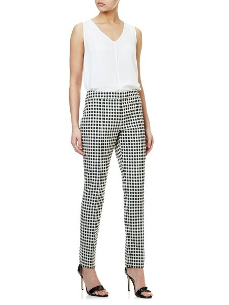 Adrianna Papell Check trouser