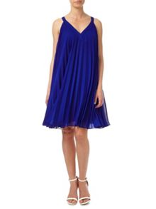 Adrianna Papell Voluminous Chiffon Shift Dress