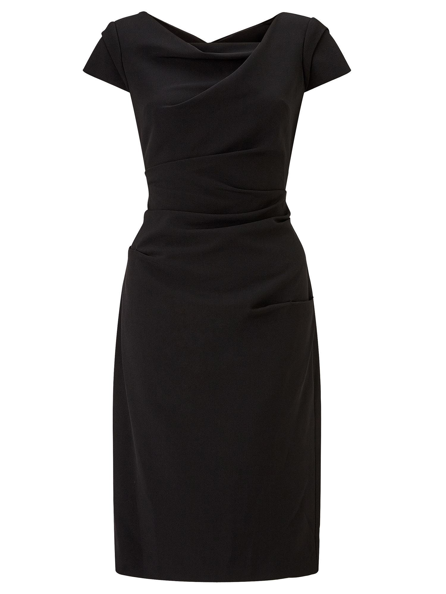 Adrianna Papell Tailored sheath dress, Black