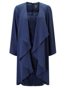 Adrianna Papell Lace dress and coat set