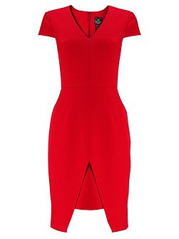 C Sleeve Sheath Dress