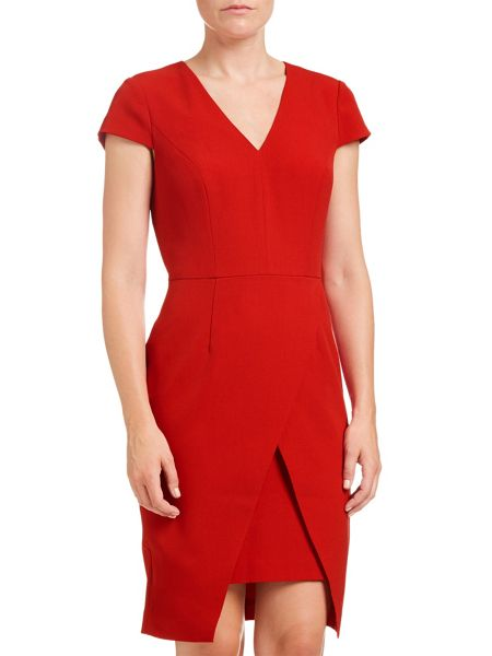 Adrianna Papell C Sleeve Sheath Dress