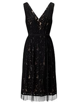 Two Tone Lace Dress