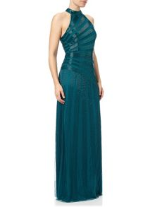 Adrianna Papell Beaded Evening Gown