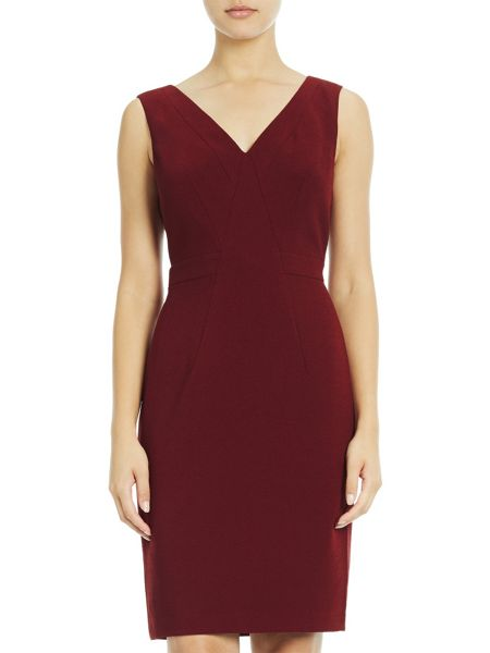 Adrianna Papell Panel Shift Dress