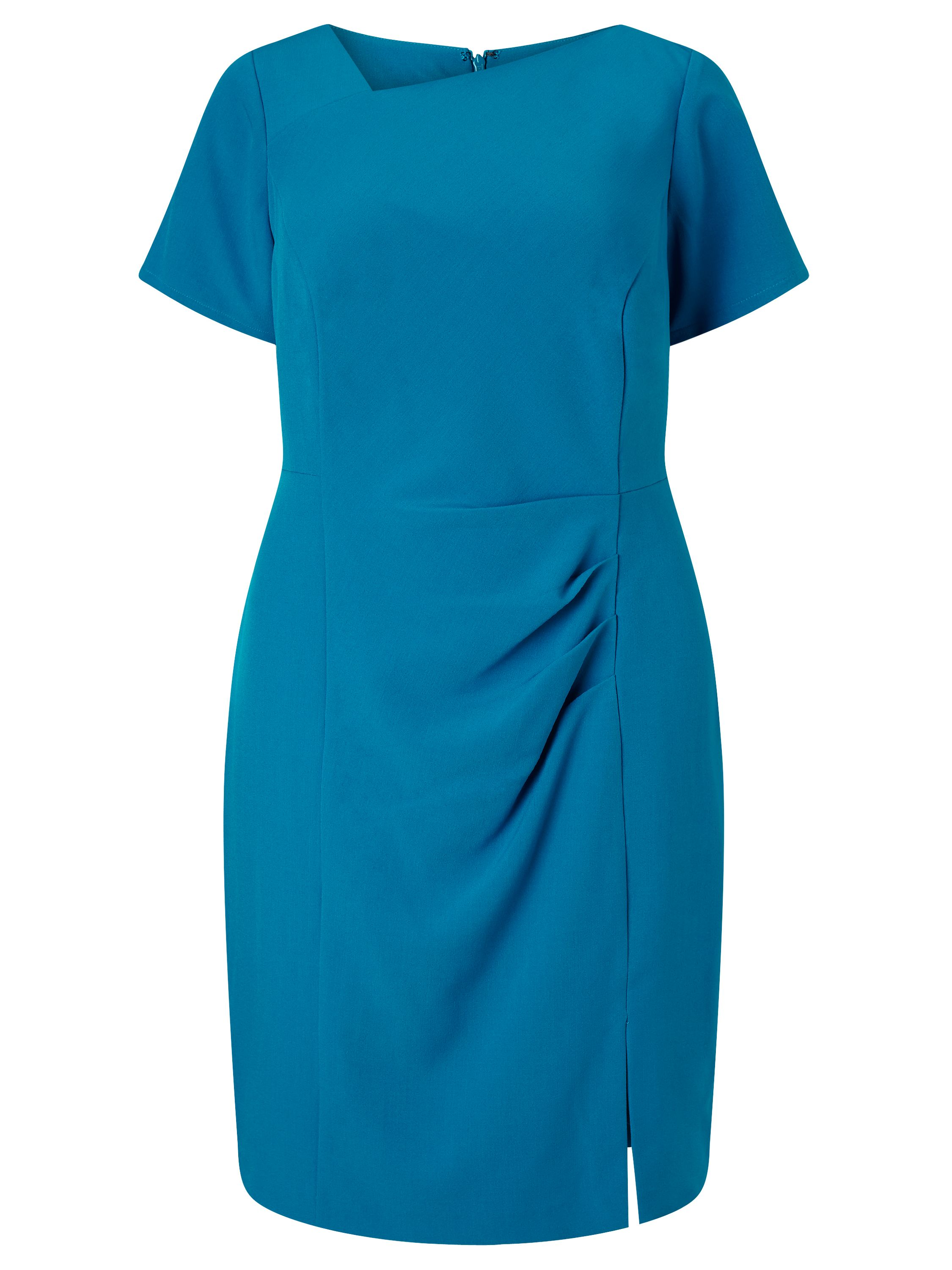 Adrianna Papell Short sleeve sheath dress, Blue
