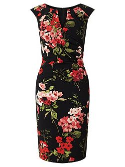 Floral Sheath Dress