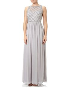Adrianna Papell Beaded Evening Dress