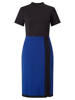 Colour Block Sheath Dress