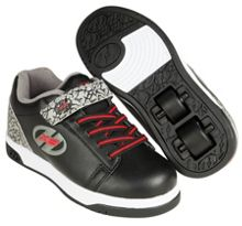 Heelys X2 Black & Grey Elephant Dual Up