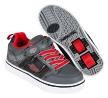 Heelys Black and Red Skate Shoes