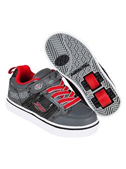 Black and Red Skate Shoes