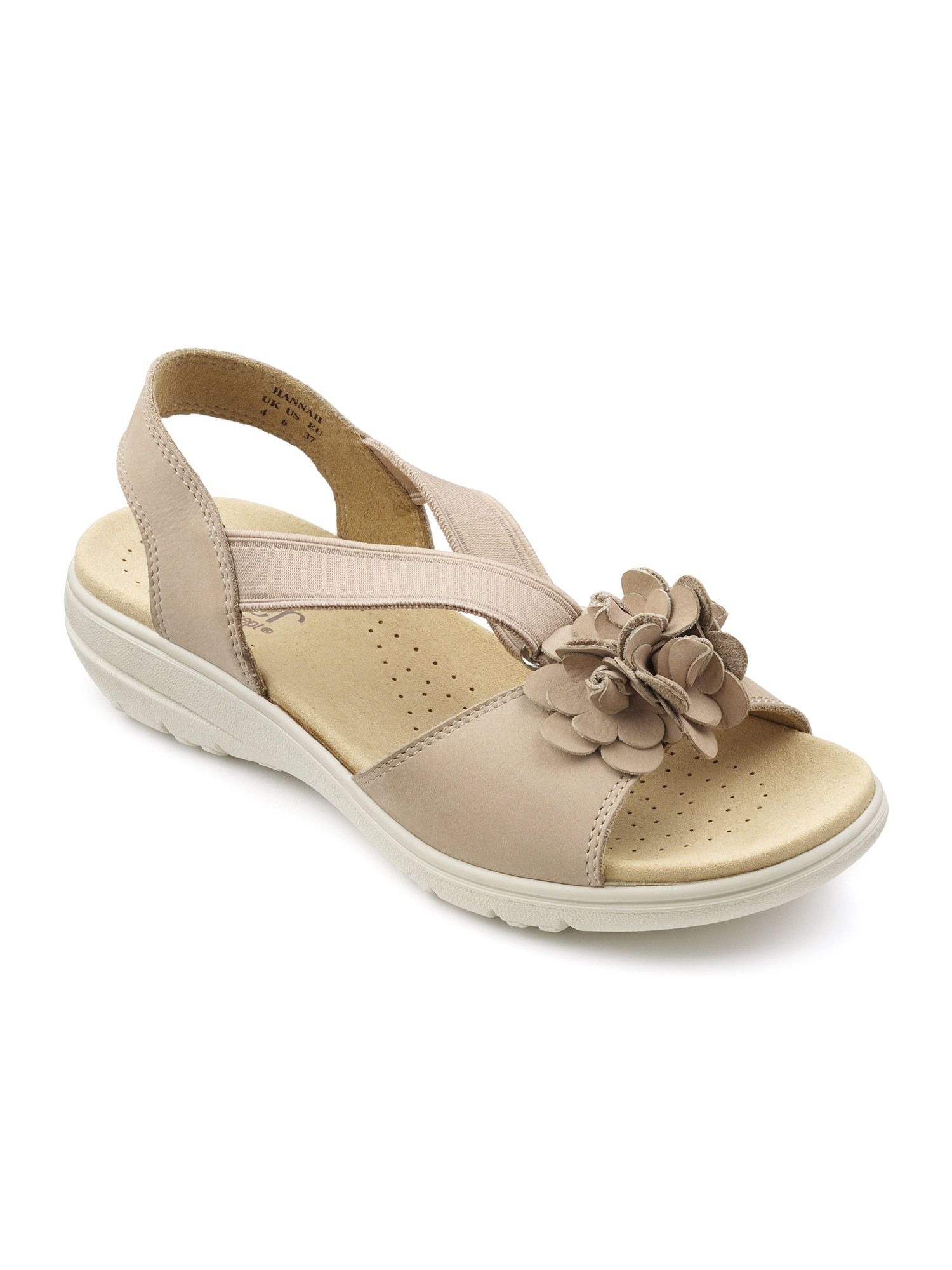 Hotter Hannah Ladies Sandal, Light Brown