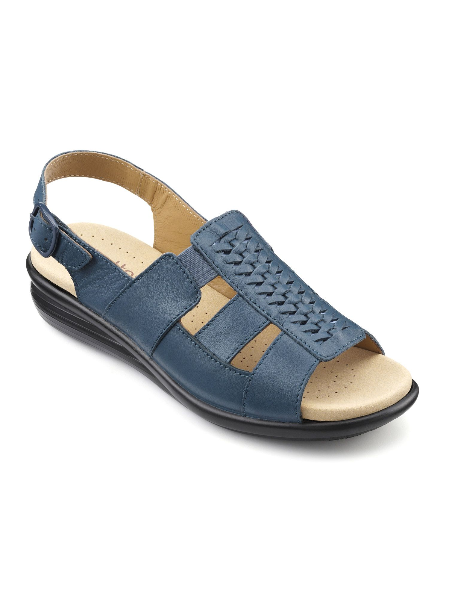 Hotter Candice Ladies Sandal, Blue