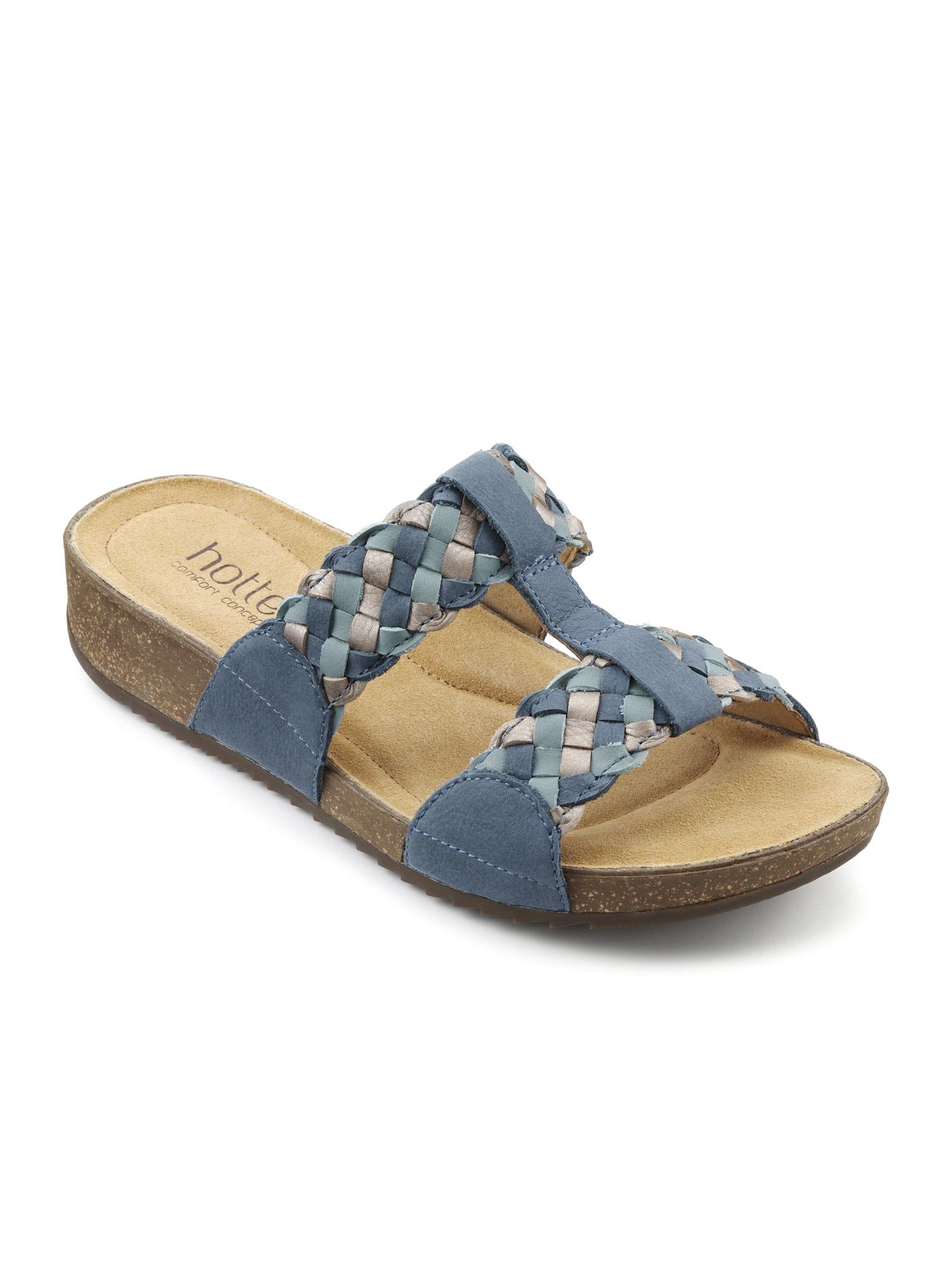 Hotter Escape Stylish Hotter Sandal, Blue