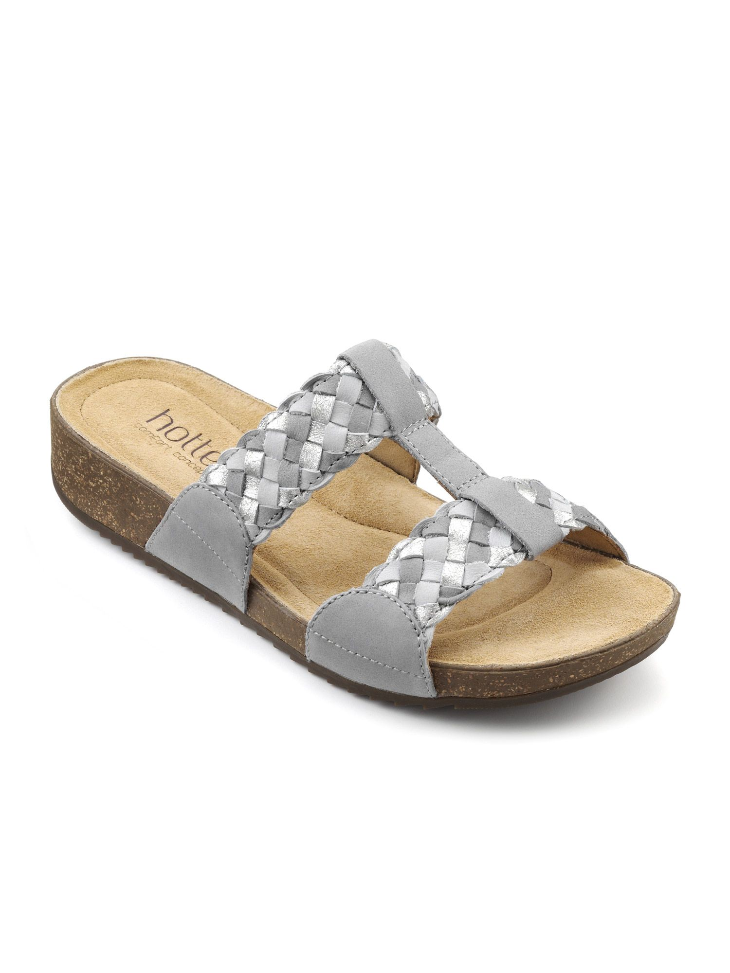 Hotter Escape Stylish Hotter Sandal, Grey