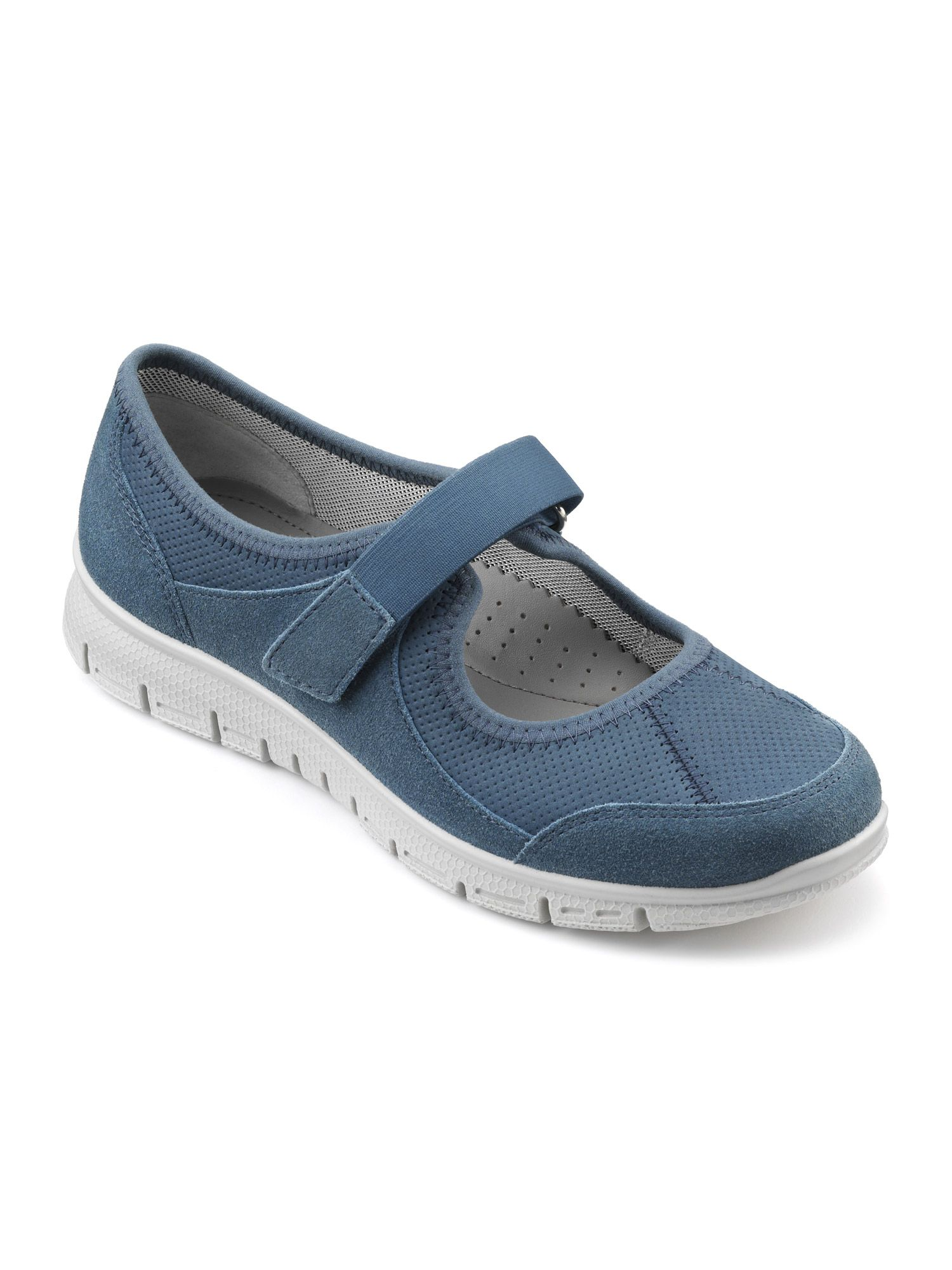 Hotter Aura Ladies Active Shoe, Blue