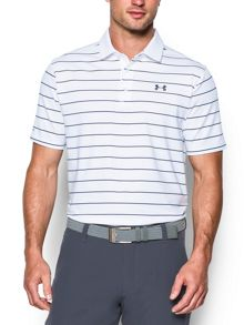 Under Armour Coldblack Swing Plane Stripe Polo