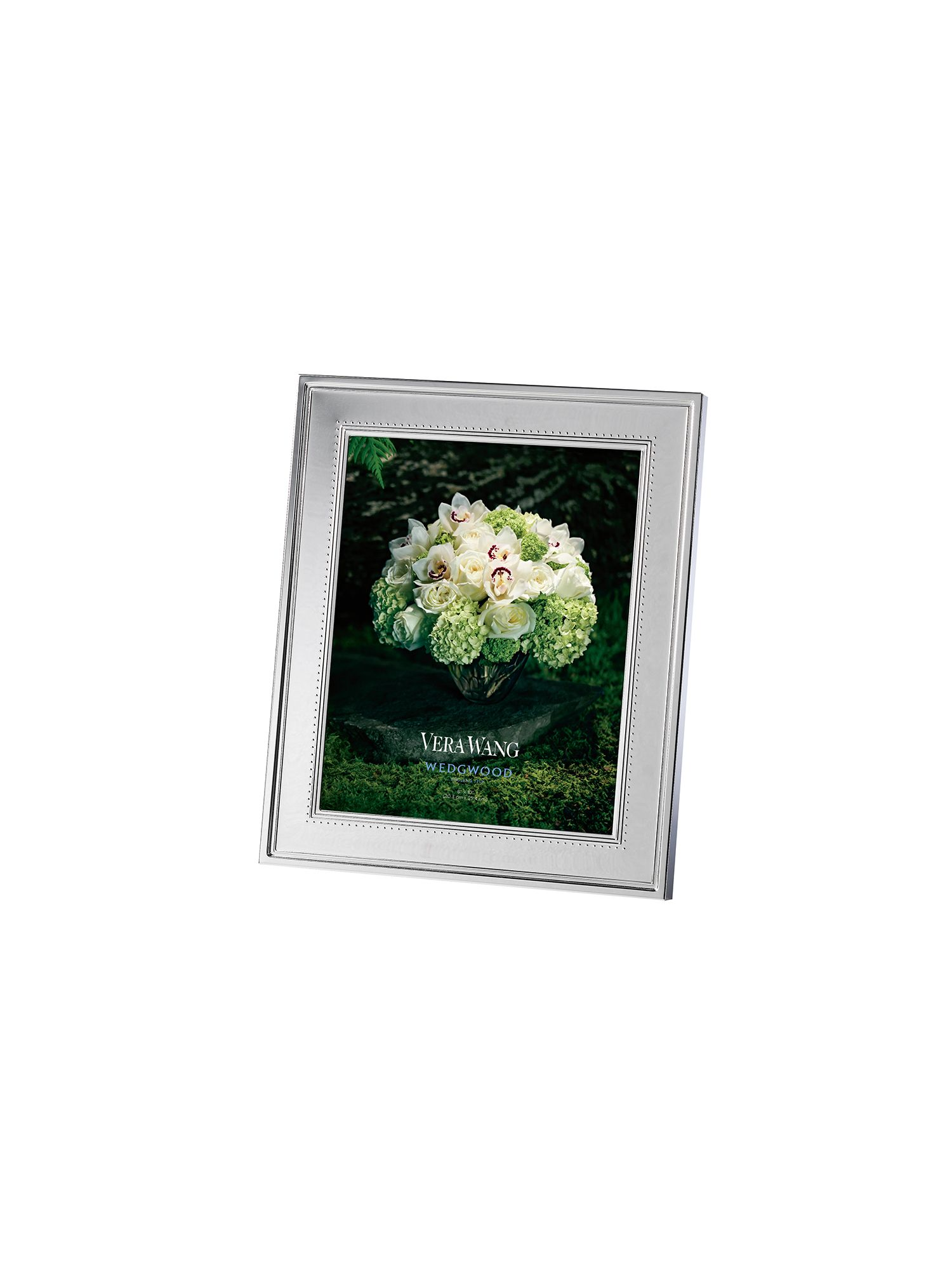 Vera wang grosgrain photo frame 8x10in