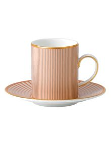 Palladian fine china espresso cup and saucer 2 pi