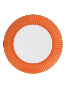 Palladian fine china orange accent plate 24cm