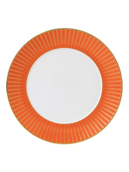 Wedgwood Palladian fine china orange accent plate 24cm
