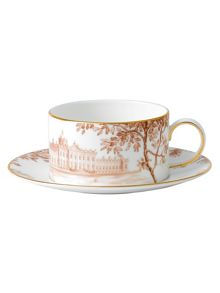 Palladian tea cup and saucer accent house
