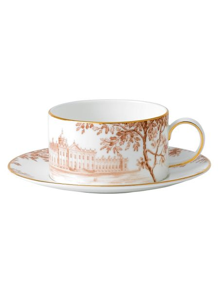 Wedgwood Palladian tea cup and saucer accent house