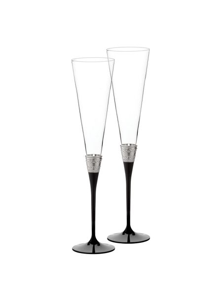 Wedgwood Vera wang with love toasting flute